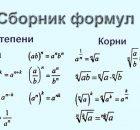 Сборник формал по математике